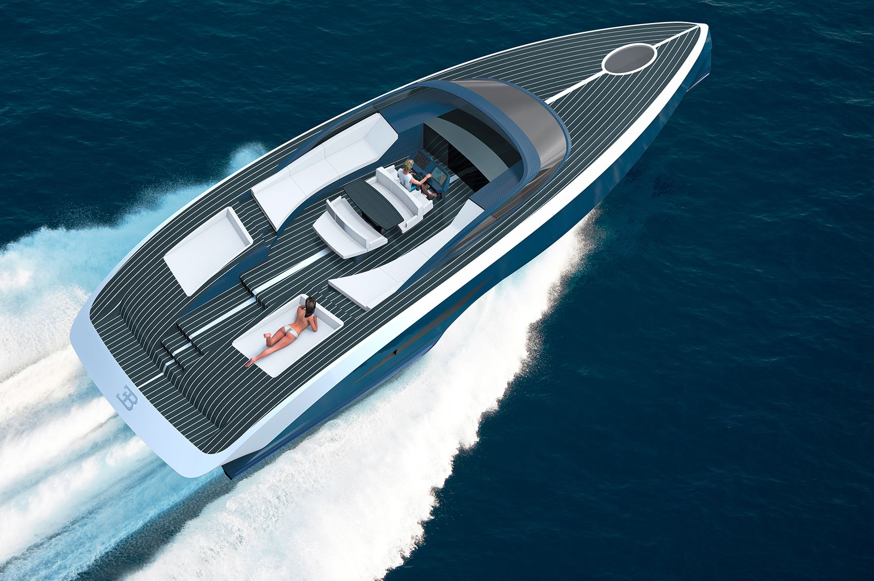 Charmant The New Bugatti Palmer Johnson Niniette Motor Yacht, Topless Bather Not  Included ...