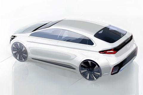 Hyundai Ioniq rendering