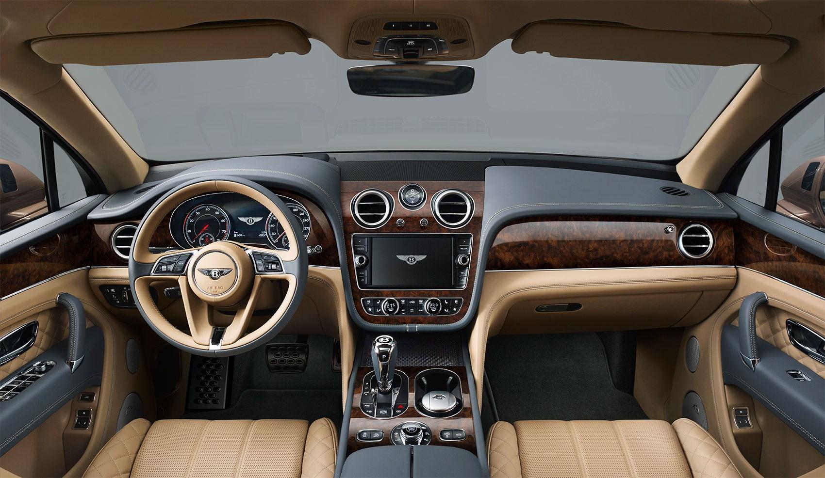 Bentley bentayga specs