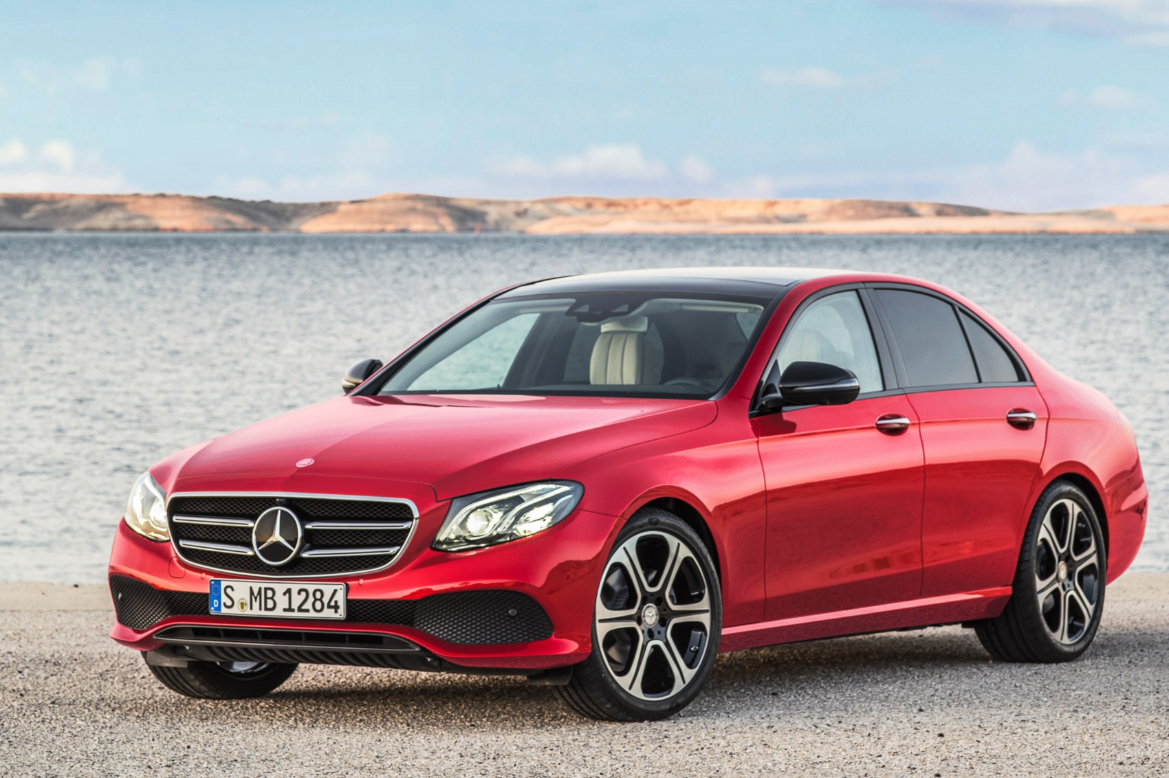 New mercedes benz e class unveiled at 2016 detroit motor for All new mercedes benz