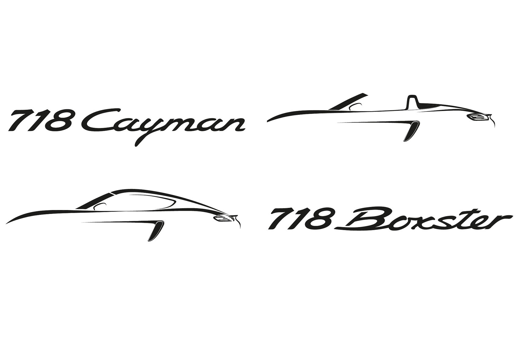 Porsche adds 718 designation to Boxster and Cayman for