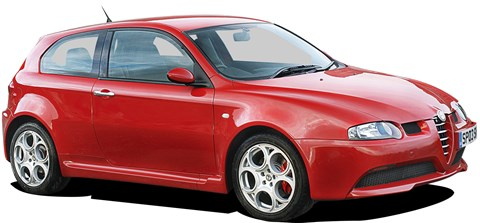 Alfa 147 GTA, still a relatively new car in comparison, examples can be found from £4k