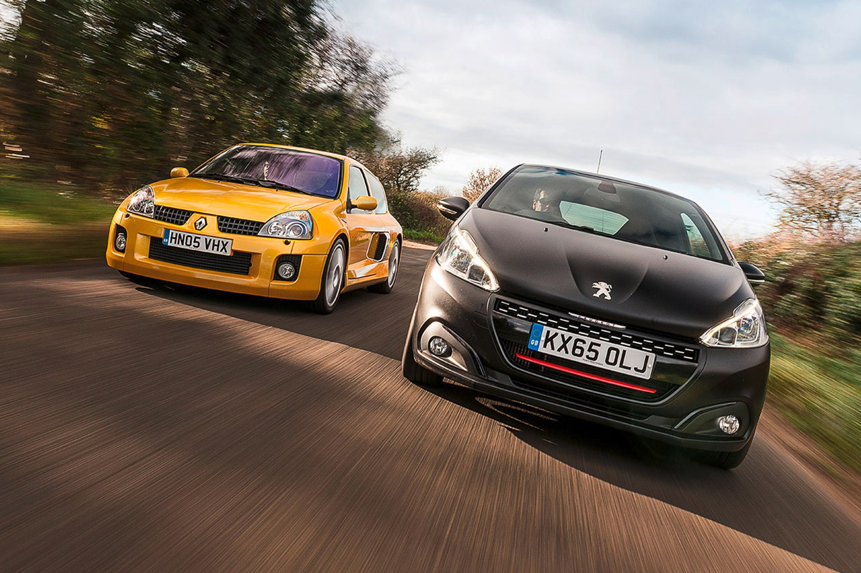 icon buyer new peugeot 208 gti vs used renault clio v6 by car magazine. Black Bedroom Furniture Sets. Home Design Ideas