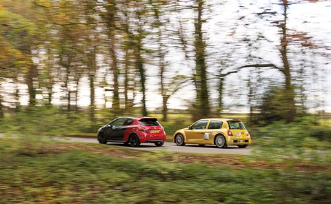 Feisty 208 the better drive but what price a French hatch with the proportions and presence of a supercar?