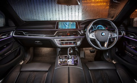 An updated iDrive and an attention to detail raises the game over the standard issue BMW interior