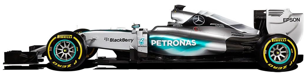 Mercedes GP da década de 2010, apresentando a evolução das regras e regulamentos da Formula 1 - foto by Car Magazine