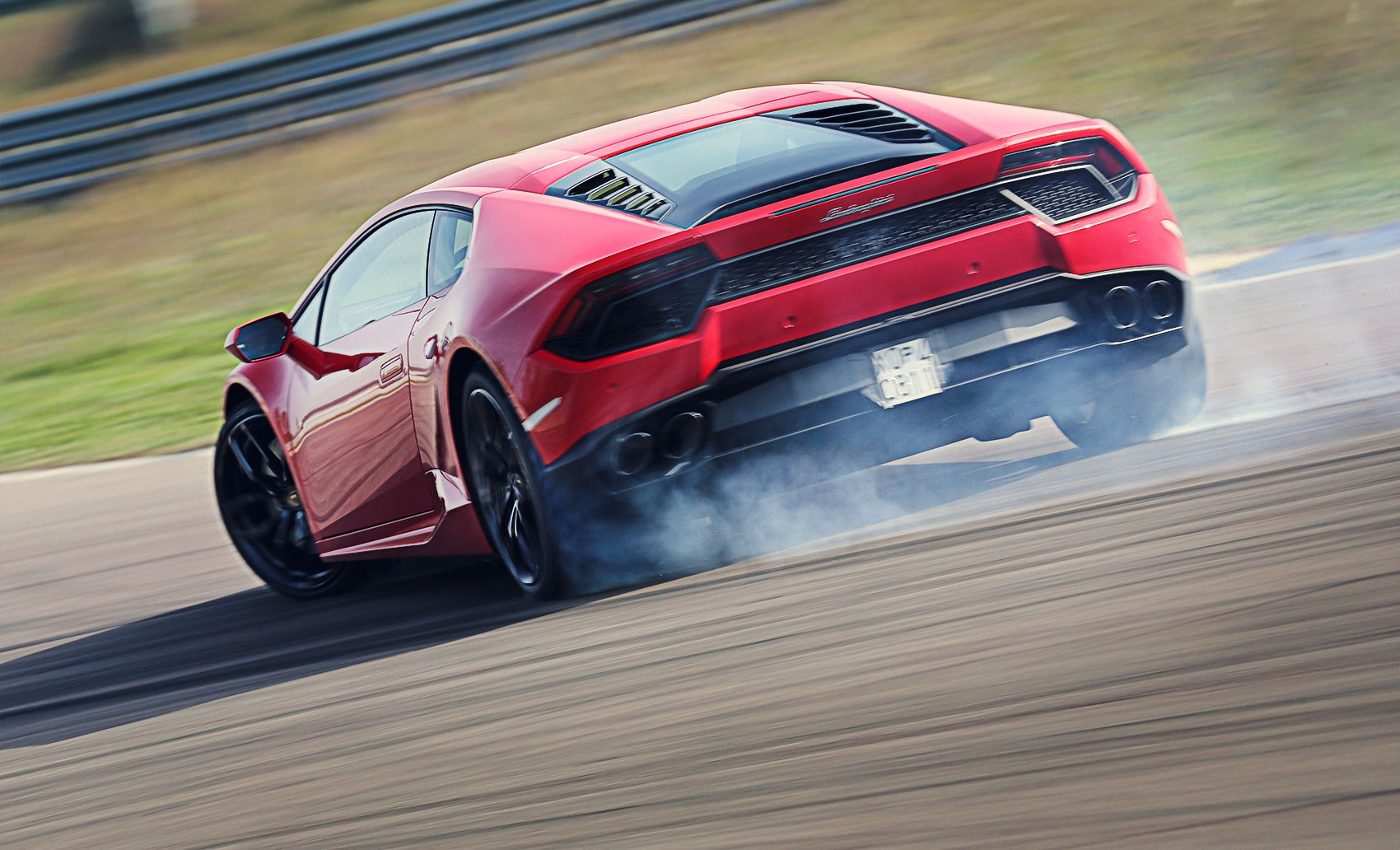 A Dash Of Oversteer Is The Order Of The Day With The New LP580 2 ...