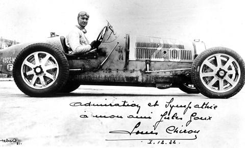 Louis Chiron: new Bugatti worthy of his name?