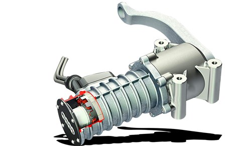Electromechanical rotary dampers can be used to recuperate energy