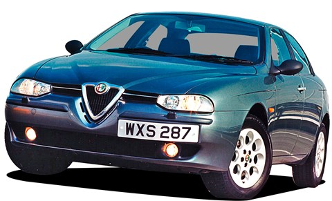 Alfa 156's hidden rear door handle a stroke of genius