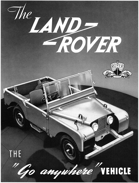 'The Land Rover' was once simply the model name