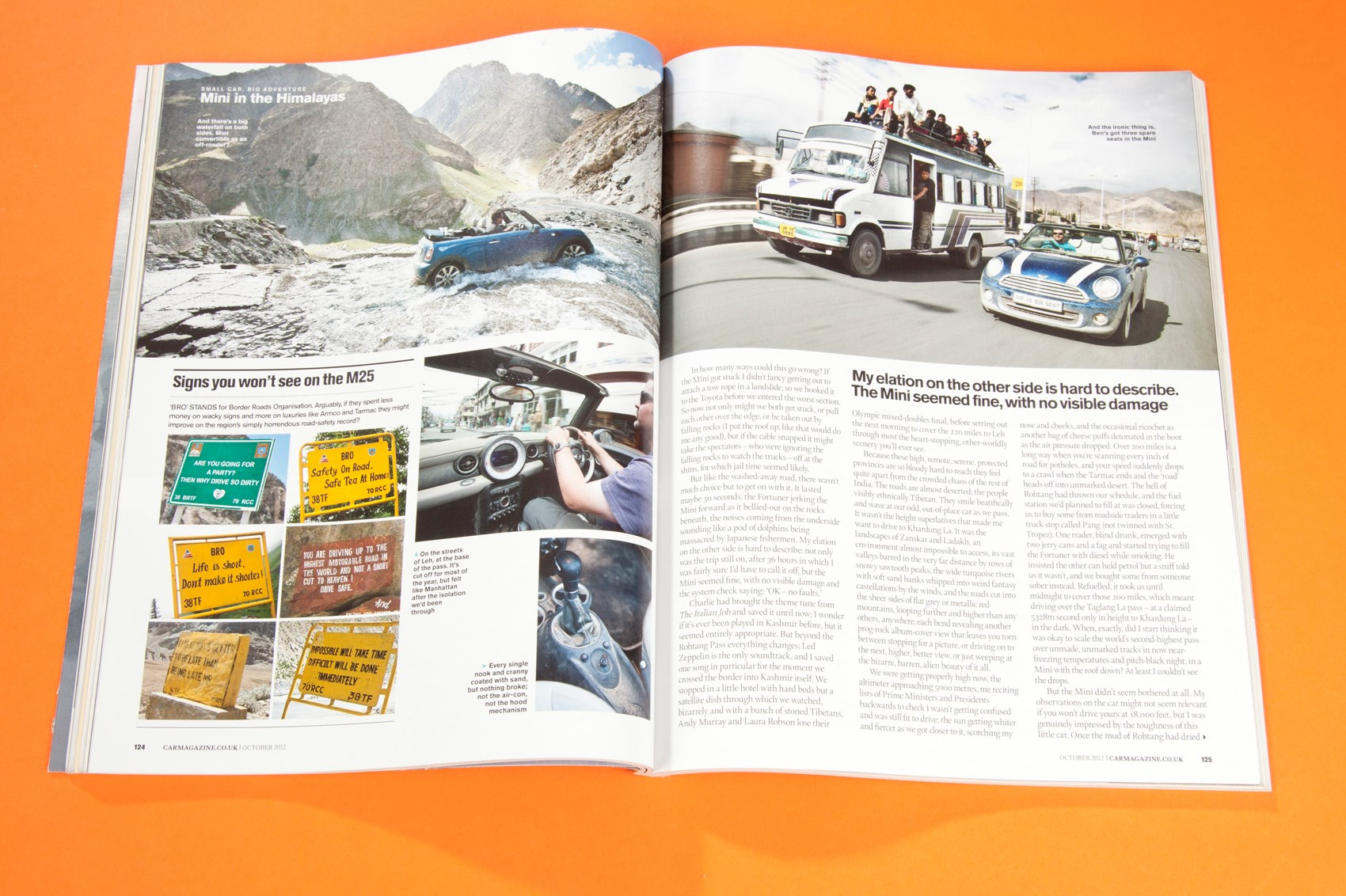 A Mini in the Himalayas: CAR+ archive, October 2012 | CAR