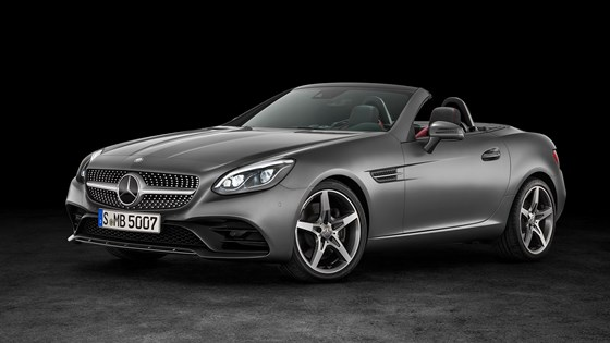 Mercedes Slc Revealed A New Name And Face For Slk In 2016
