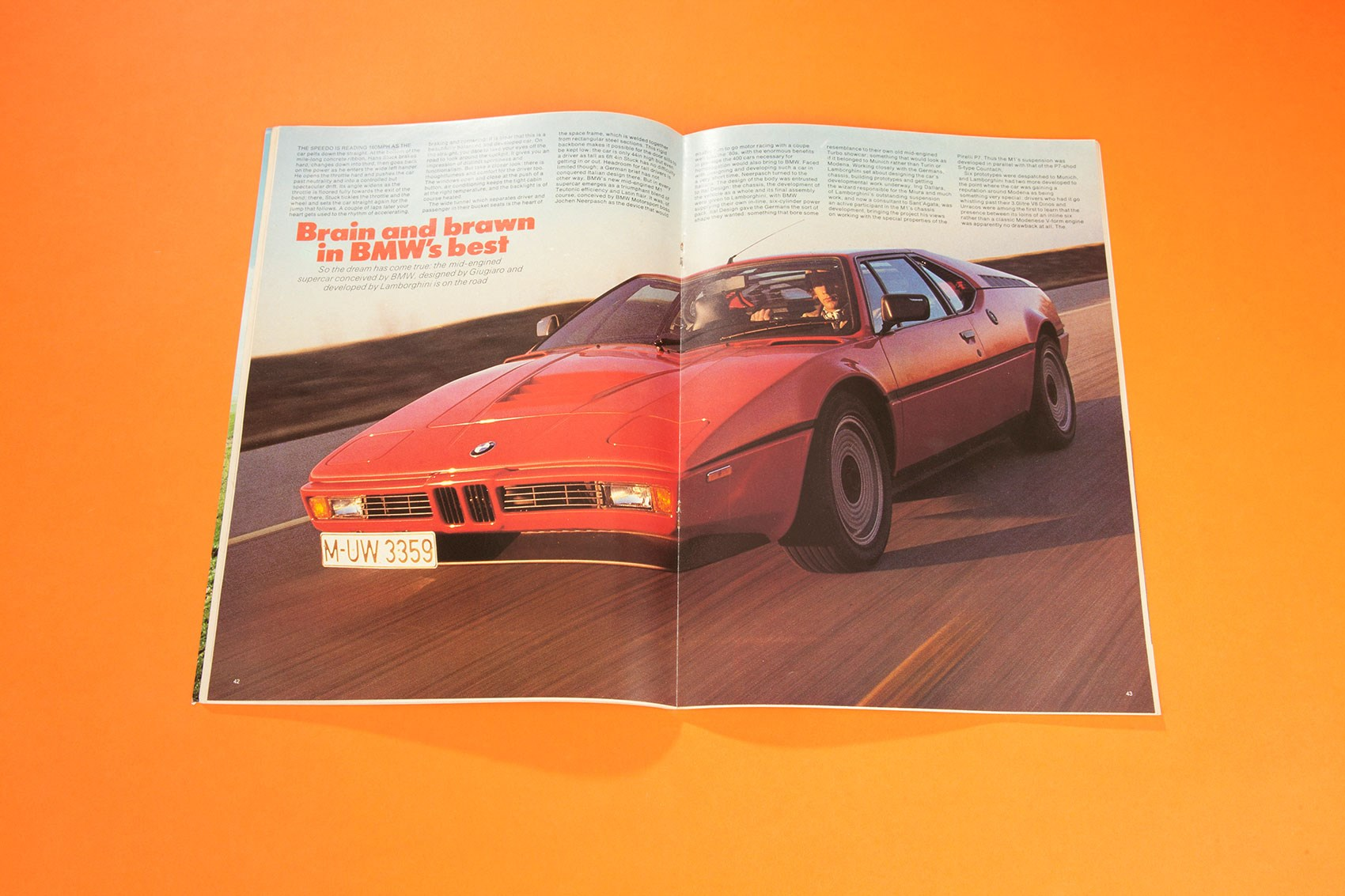 The dream has come true\' - our first experience of the BMW M1 ...
