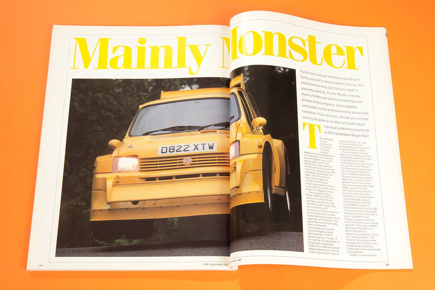 Mainly Monster: road-going Metro 6R4 tested (CAR archive, 1987)