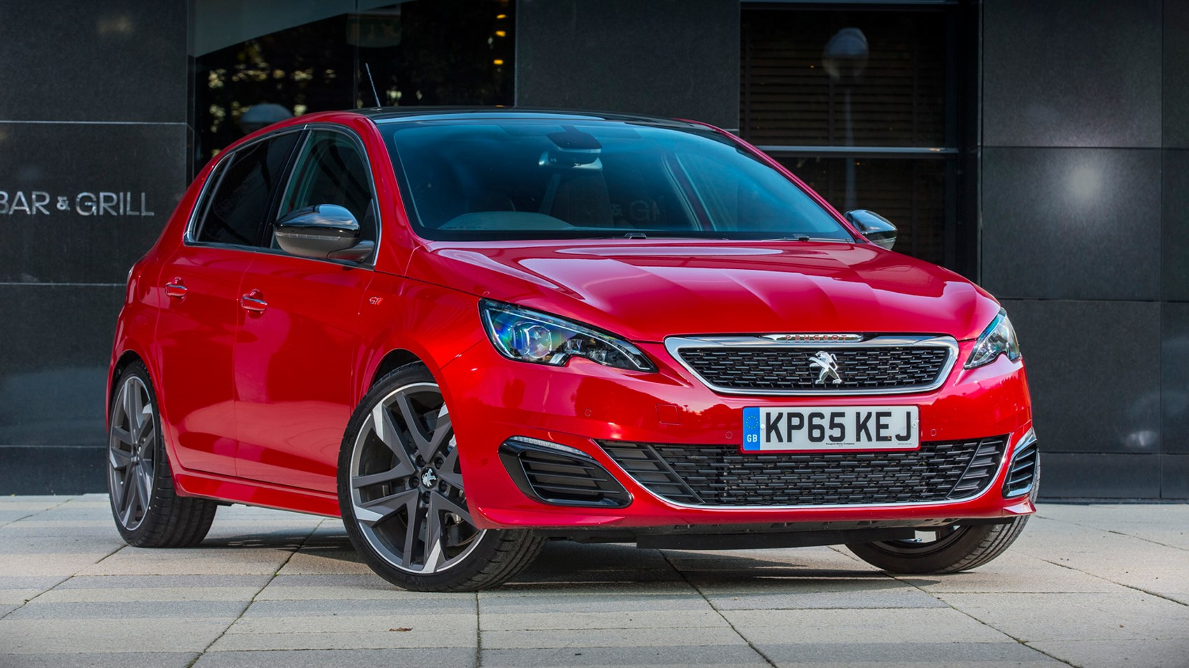 peugeot 308 gti 2016 review by car magazine. Black Bedroom Furniture Sets. Home Design Ideas