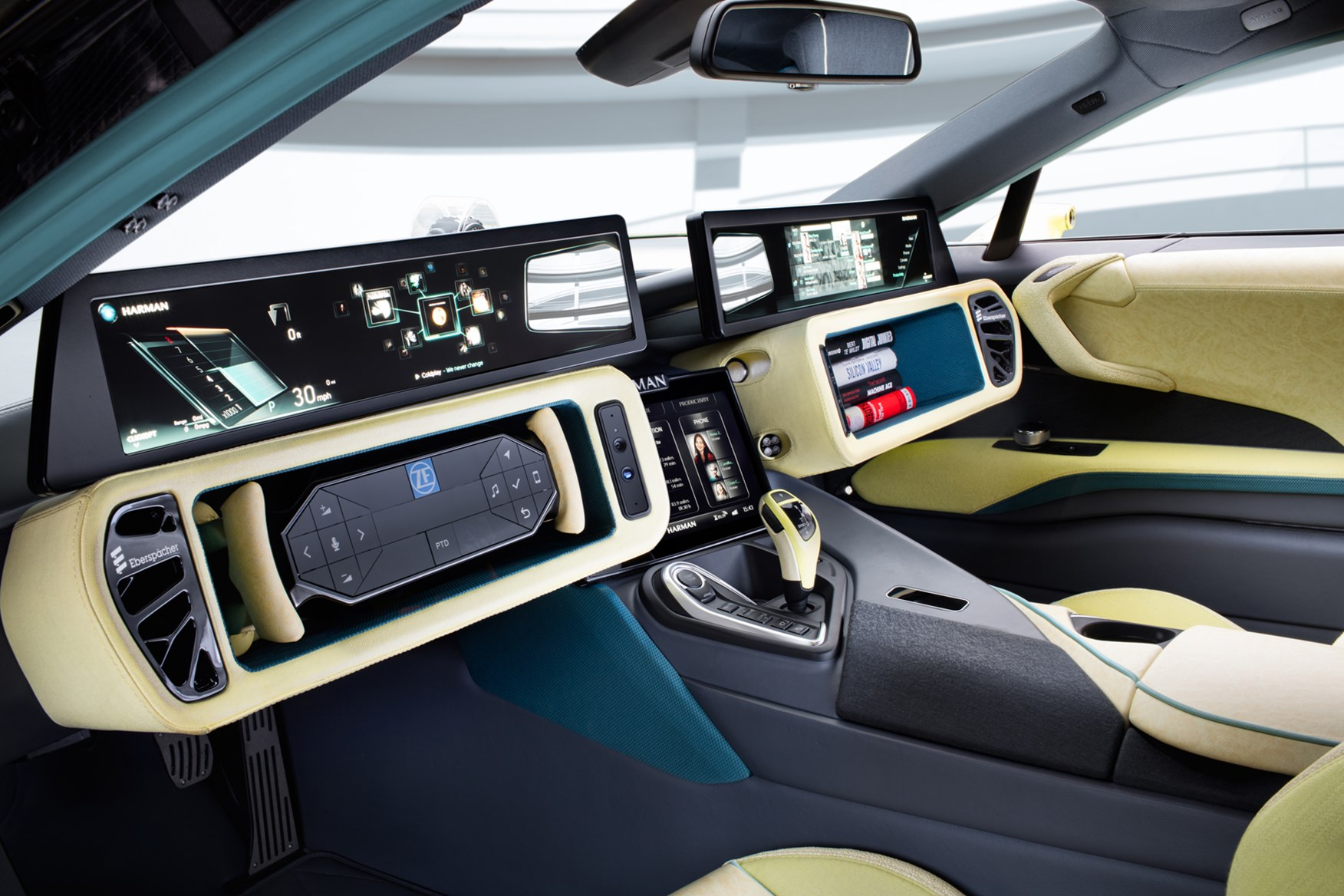 Rinspeed Etos based on BMW i Rear HD Wallpaper