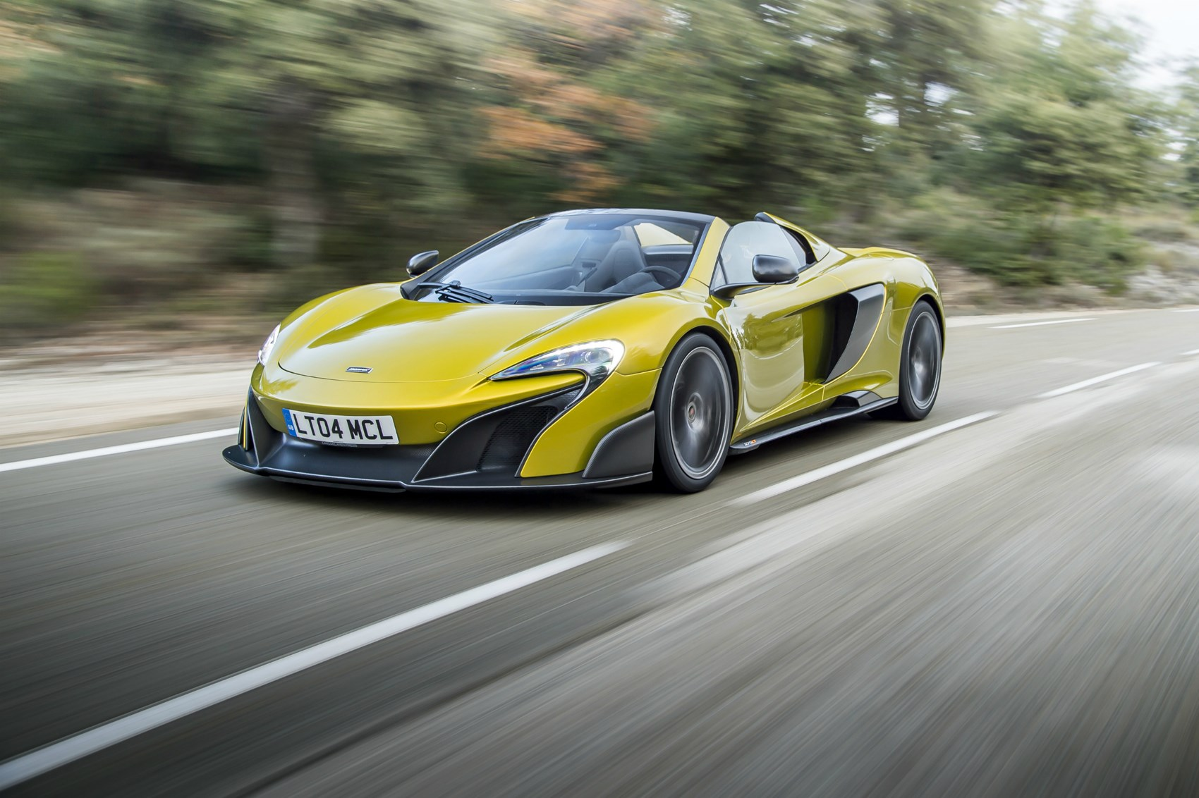 bad luck if you fancied a mclaren 675lt spider they re all sold out by car magazine. Black Bedroom Furniture Sets. Home Design Ideas