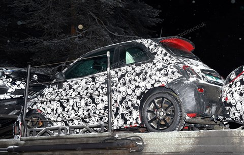 The new 2016 Abarth 500: scooped!