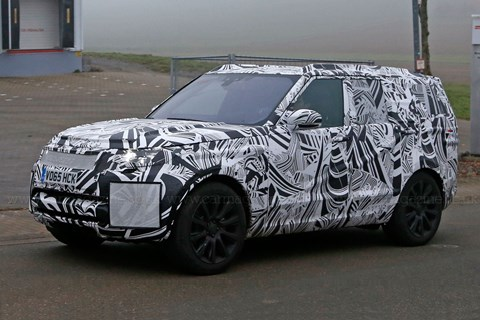 The new 2016 Land Rover Discovery on test