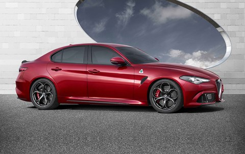 Hopes are high: the new 2016 Alfa Romeo Giulia