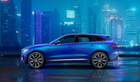 The first crossover cat: the Jaguar F-Pace