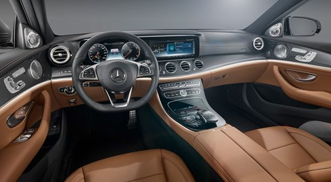 Officially unveiled: inside the new 2016 Merc E-class cockpit