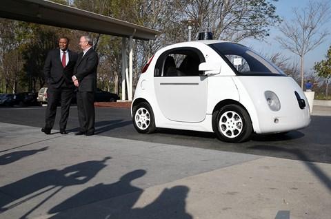 The Google autonomous car pilot (Getty Images)