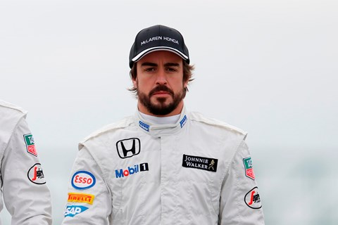 Fernando Alonso endured a frustrating 2015 season