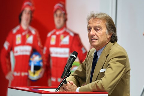 Luca di Montezemolo. Not a believer in SUVs. Good on him