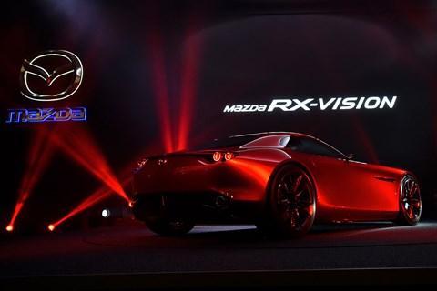 Rotary makes a comeback: the Mazda RX-Vision at Tokyo