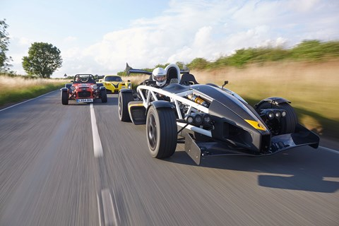 Ariel Atom 3.5R, photographed for CAR by John Wycherley