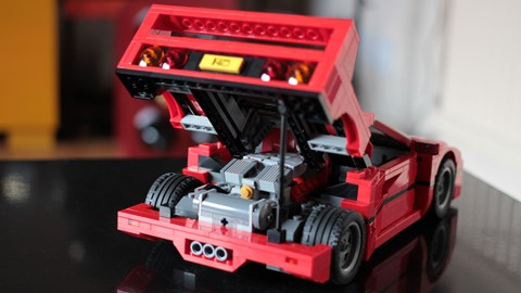 Lego Ferrari F40 kit was technically the cheapest new car tested in 2015