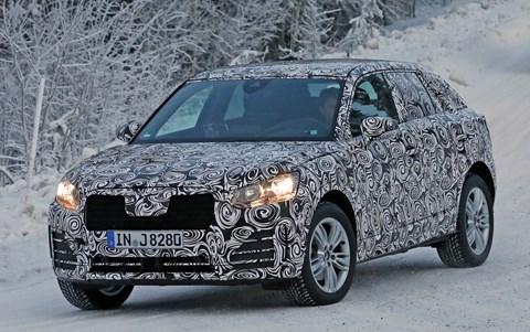 CAR scoops the new 2016 Audi Q2