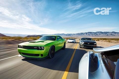 Charger vs Huracan vs Mustang vs i8: it's CAR's US road trip