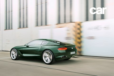 Another CAR exclusive: we drive the Bentley sports car concept first