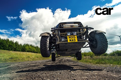 You're clear for take-off: the Ariel Nomad, airborne
