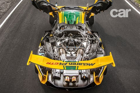 McLaren P1 GTR: excess all areas