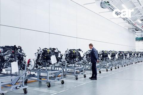 Inside Bentley's Bentayga production suite at Crewe