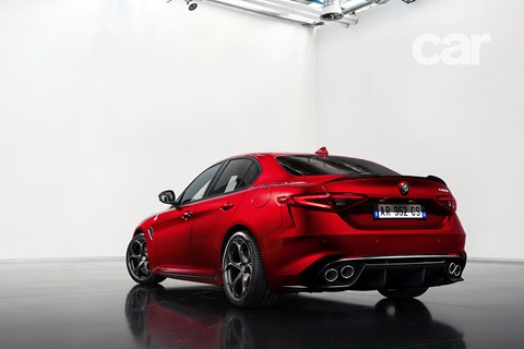 The new Alfa Romeo Giulia, photographed exclusively for CAR magazine