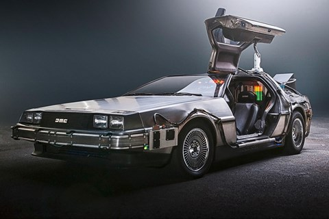 The Back to the Future DeLorean