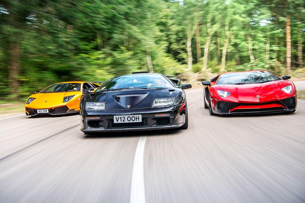 Absolute Bull 50 Years Of V12 Lamborghinis Car February 2016