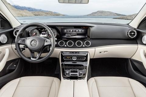 Mercedes E-class interior