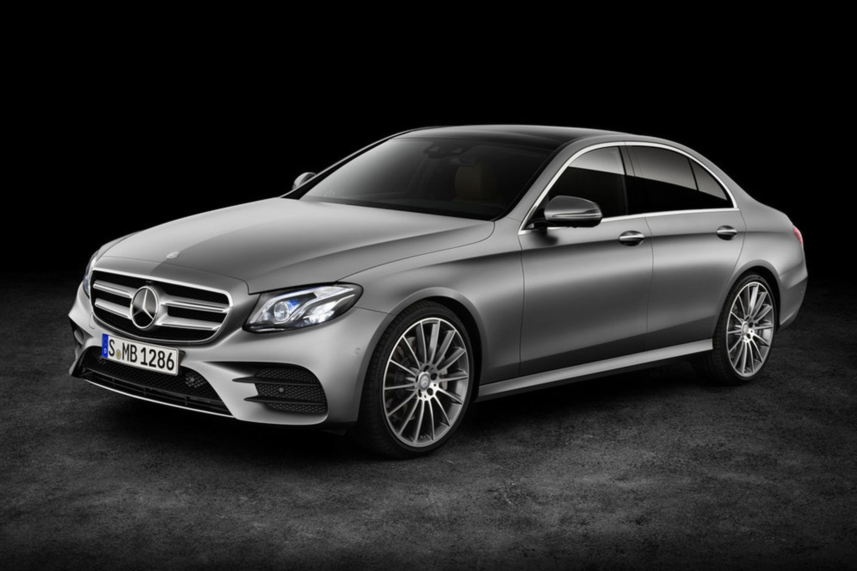 like a c-class, only bigger: new 2016 mercedes e-class revealed in