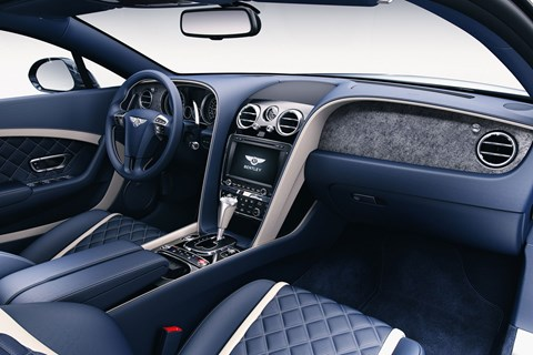 Bentley stone-trimmed interior