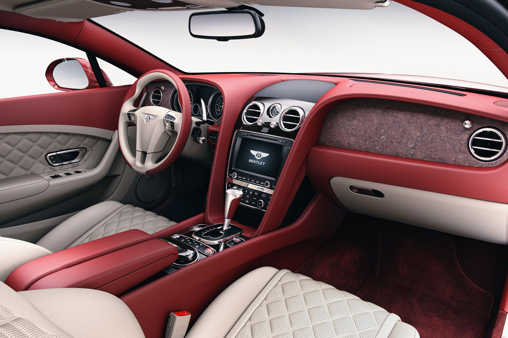 Wood No Good How About Stone Veneers In Your Bentley Car