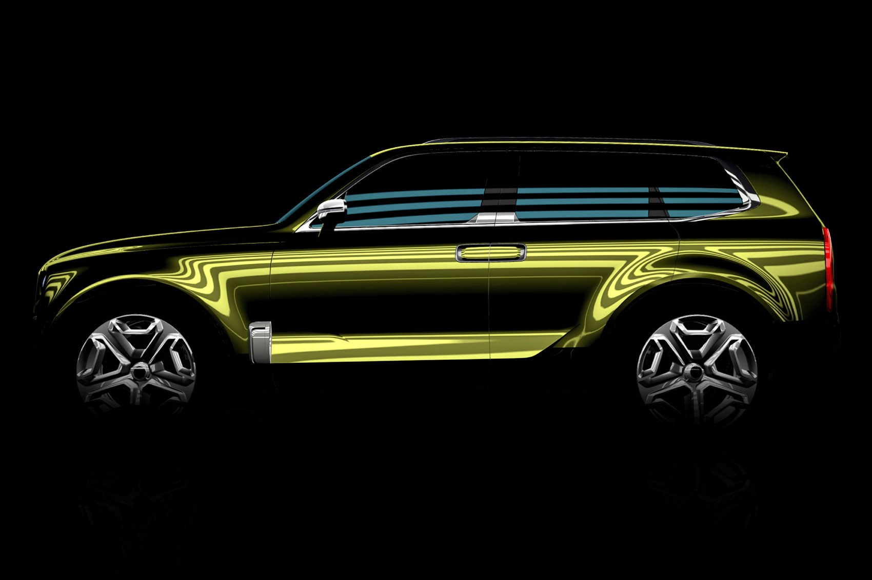 New Kia KCD12 SUV Concept Set For Detroit Motor Show 2016