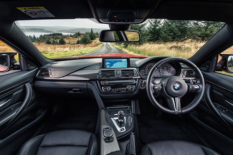 BMW's infotainment system is the best in the test. iDrive has benefited from years of refinement