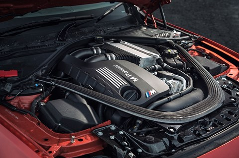 Straight six is helped along the way by a twinscroll turbocharger