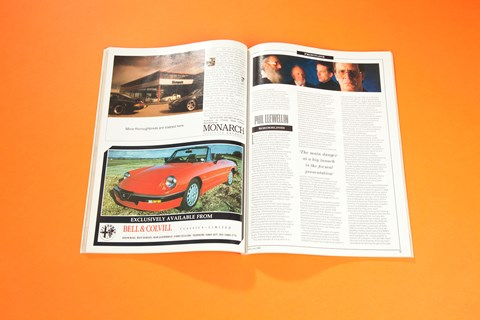 Llewellin column, CAR magazine 1989